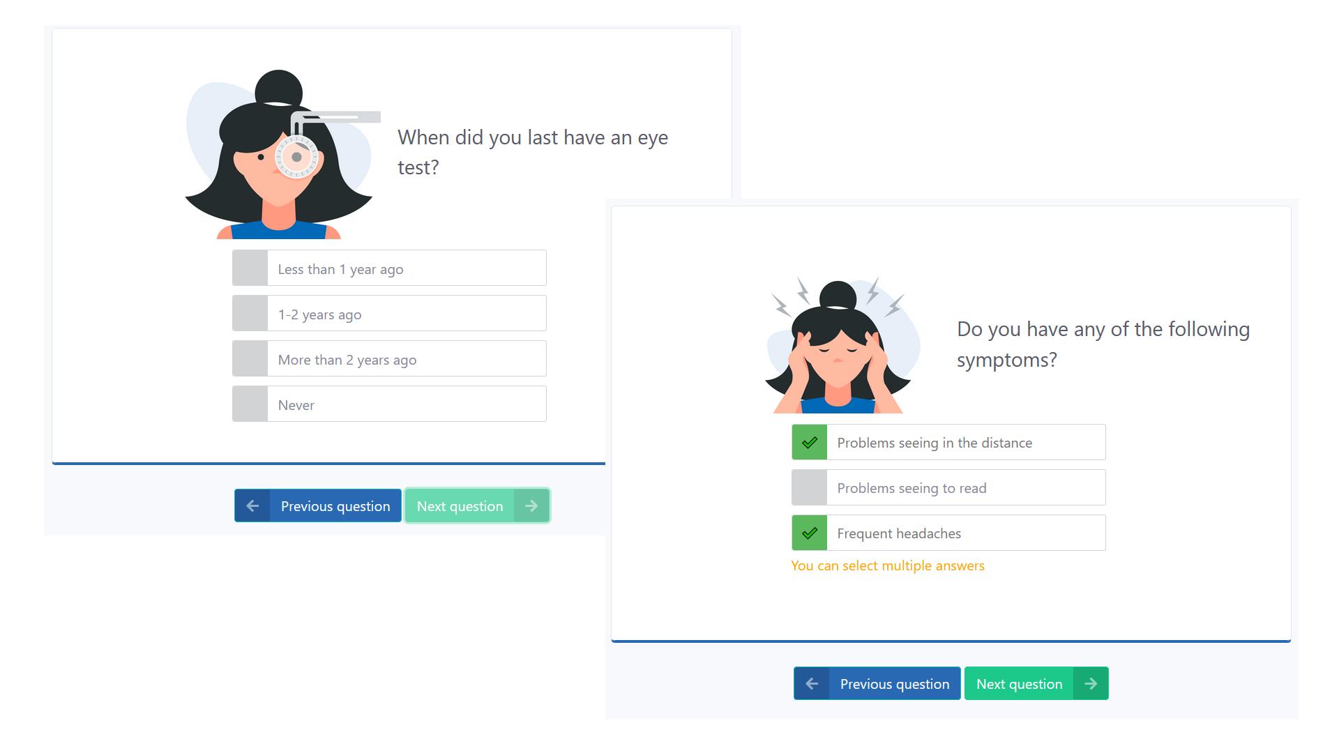 CheckMyVision Questionnaire